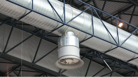 Industrial air cleaning equipment