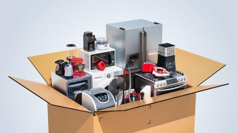 Household appliances and electronics, other